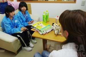 職場体験学習_201507|さくらペットクリニック|動物病院|鹿児島市