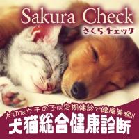 さくらチェック犬猫総合健康診断|さくらペットクリニック|動物病院|鹿児島市