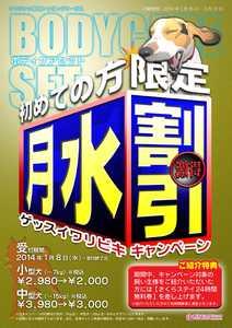 【ボディケアセット】ゲッスイ割引キャンペーン