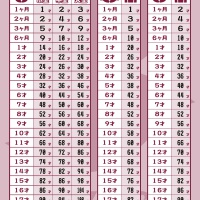 ペット年齢換算表|さくらペットクリニック|動物病院|鹿児島市