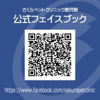 公式フェイスブックQRC|さくらペットクリニック|動物病院|鹿児島市
